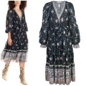 Ulla Johnson Romilly floral dress